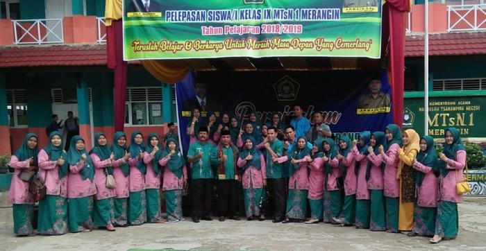 PERPISAHAN KELAS IX TAHUN 2019